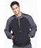 Photograph of Infinity Men Men's Colorblock Zip Up Warm-Up Jacket Black CK330A-BAPS