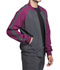 Photograph of Infinity Men Men's Colorblock Zip Up Warm-Up Jacket Gray CK330A-PWPS