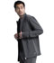 Photograph of Infinity Men Men's Zip Front Jacket Gray CK332A-PWPS