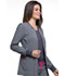 Photograph of Infinity Women's Zip Front Warm-Up Jacket Black CK340A-HTGR
