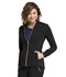 Photograph of Statement Women's Zip Front Jacket Black CK365-BLK