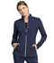 Photograph of Statement Women's Zip Front Jacket Blue CK365-NAV