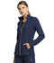Photograph of Statement Women Zip Front Jacket Blue CK365-NAV