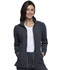Photograph of Statement Women Zip Front Jacket Gray CK365-PWT