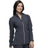 Photograph of Statement Women's Zip Front Jacket Gray CK365-PWT