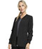 Photograph of Infinity Women's Zip Front Warm-Up Jacket Black CK370A-BAPS