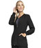 Photograph of Infinity Women's Zip Front Jacket Black CK370A-BAPS