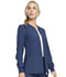 Photograph of Infinity Women's Zip Front Warm-Up Jacket Blue CK370A-NYPS
