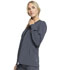 Photograph of Infinity Women Zip Front Jacket Gray CK370A-PWPS