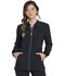 Photograph of Infinity Women's Zip Front Warm-up Black CK380A-BAPS