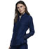 Photograph of Cherokee Form Women Zip Front Jacket Blue CK390-NAV