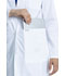 Photograph of Project Lab by Cherokee Women 33 Lab Coat White CK452-WHT