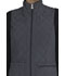 Photograph of Infinity Women's Reversible Quilted Vest Black CK530A-BLHC