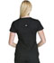Photograph of Luxe Sport Women's Mock Wrap Top Black CK603-BLKV