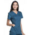 Photograph of Luxe Sport Women's Mock Wrap Top Blue CK603-CARV