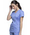 Photograph of Luxe Sport Women's Mock Wrap Top Blue CK603-CELV