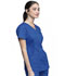 Photograph of Luxe Women's Mock Wrap Top Blue CK603-GABV