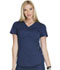 Photograph of Luxe Sport Women's Mock Wrap Top Blue CK603-NAVV