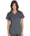Photograph of Cherokee Luxe Women's Mock Wrap Top Gray CK603-PEWV