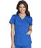 Photograph of Cherokee Luxe Sport Women's Mock Wrap Top Blue CK603-ROYV