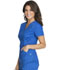 Photograph of Luxe Sport Women's Mock Wrap Top Blue CK603-ROYV