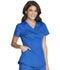 Photograph of Luxe Sport Women Mock Wrap Top Blue CK603-ROYV