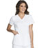 Photograph of Luxe Sport Women Mock Wrap Top White CK603-WHTV