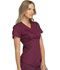 Photograph of Cherokee Luxe Sport Women's Mock Wrap Top Red CK603-WINV