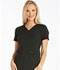 Photograph of Cherokee iFlex Women's V-Neck Knit Panel Top Black CK605-BLK