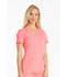 Photograph of iFlex Women's V-Neck Knit Panel Top Pink CK605-KAPK