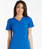 Photograph of Cherokee iFlex Women's V-Neck Knit Panel Top Blue CK605-ROY