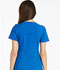 Photograph of iFlex Women's V-Neck Knit Panel Top Blue CK605-ROY