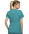 Photograph of iFlex Women's V-Neck Knit Panel Top Blue CK605-TLB