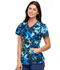 Photograph of Cherokee Infinity Women's Mock Wrap Top Barely Branches CK608-BBHS