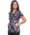 Photograph of Infinity Women's Mock Wrap Top Bloom-tanical CK608-BMTC