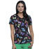 Photograph of Infinity Women's Mock Wrap Top Butterfly Prism CK608-BUPR