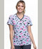 Photograph of Infinity Women's Mock Wrap Top What's The Brush? CK608-WHBR