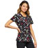 Photograph of Infinity Women's Round Neck Top Blossoms For Days CK609-BODA