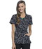 Photograph of Infinity Women Round Neck Top Doodle Polka Dots CK609-DDPD