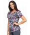 Photograph of Cherokee Infinity Women's Round Neck Top Hidden Textures CK609-HITX