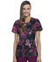 Photograph of Infinity Women's Round Neck Top Night Garden CK609-NIGD
