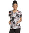 Photograph of Infinity Women's Round Neck Top Wild Floral CK609-WDFA