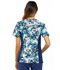 Photograph of Flexibles Women's Mock Wrap Knit Panel Top Bold Blooms CK610-BDBS