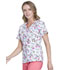 Photograph of Cherokee Prints Women's Mock Wrap Top Dragonfly Me Away CK614-DRGN