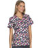 Photograph of Cherokee Prints Women's Mock Wrap Top Got The Hearts For You CK614-GHFY