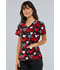 Photograph of Cherokee Prints Women's Mock Wrap Top Heart Smart CK614-HTSM