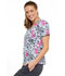 Photograph of Cherokee Prints Women Mock Wrap Top Stay Wild CK614-STWL