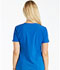 Photograph of iFlex Women's Mock Wrap Knit Panel Top Blue CK619-ROY