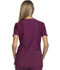 Photograph of iFlex Women's Mock Wrap Knit Panel Top Red CK619-WIN