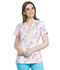 Photograph of Cherokee Prints Women's Mock Wrap Top Floral Stitches CK620-FSTT